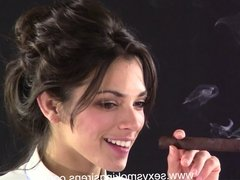 Simone Button Down Shirt and Tie Cigar