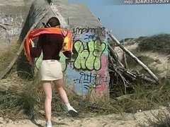 teen nude at beach