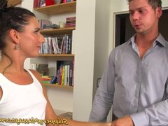 promesita gives a slippery nuru massage with happy end