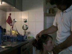 In Kitchen quickie