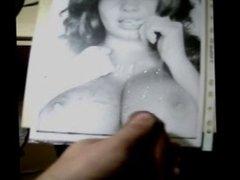 Holly Peers cumshot tribute 1 on her boobs