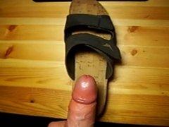 cum on shoe 2