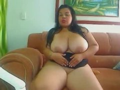 Colombian bbw big boobs girl VI