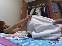 Hairy Japanese voices her Pleasure -Yuzuyu-
