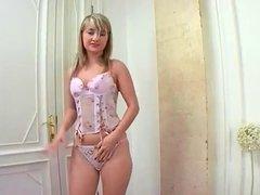 Blonde Interracial DP