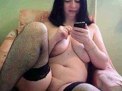Granny busty show big tits