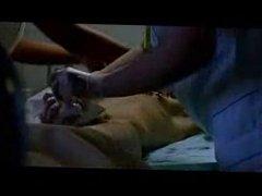 two nurses shaving dick