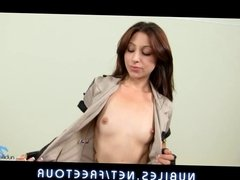 Naughty coed cop Alexa Rydell cums good