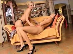 Sandra  and Demi  so very hot