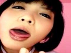 Sexy Asian Girl Riding Dildo