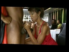 Beauty Blowjob at Dancing Party by TROC
