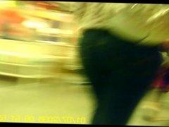 MILF Ass In Public - NonNude- Creeper Vid