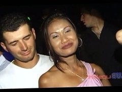 Real girl upskirt in the club video No.01