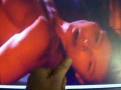 Jessica Biel - Cum on movie video scene - Powder Blue
