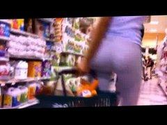 Public Ass - Woman with a round & huge ass