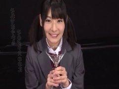 Ryoko Hirosaki gokkun swallow. CENSORED