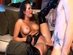 Busty Brunette Whore In Hardcore Fuck