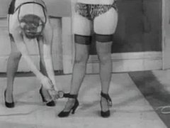 Vintage Stripper Film - B Page Bondage