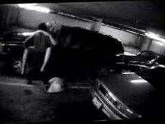 BBC Fucks White Wife in Parking Garage - Public Voyeur