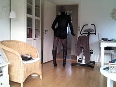 Sissy dancing and jerking off 2