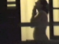 Peeping at woman taking shower at Hedo III