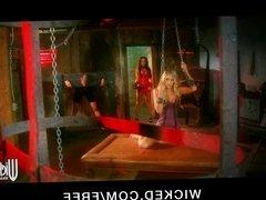Wicked - HOT blond Alysha Rylee shares big-dick Lisa Ann