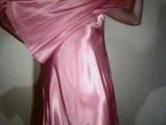 Rose Satin Nightie 2