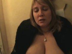 British Milf hotel room