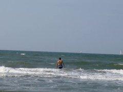 Me at the beach