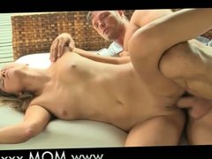 MOM Natural MILF makes love to her man