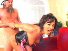 Sandra Romain & Aurrora Snow Anal fuck