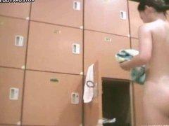Women Bathroom Exposed In Voyeur