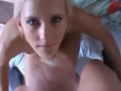 amateur college chick on fuck and cum in mouth