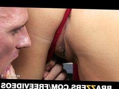 Big-tit brunette Kianna Dior fucks her doctor