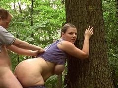 Amateurs Fuck In The Woods