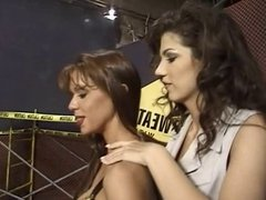 British MILF Nici Stirling in a lesbian threesome