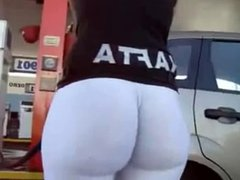Ass in gas station 2