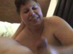 BBW Mature Handjob(Nice Video)