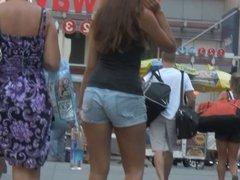 Sweet Ass in Jean Shorts