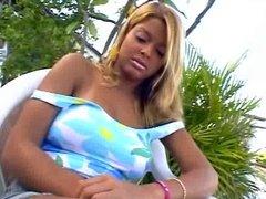 Tanned Brazillian Beauty Kelly