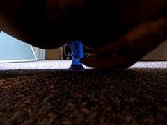 me using a dildo