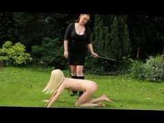 English Slave Girl TRAINED