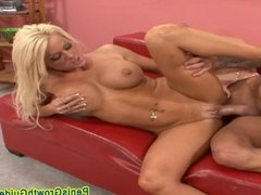 Big Tits Amber Screwed By A Bald Guy2