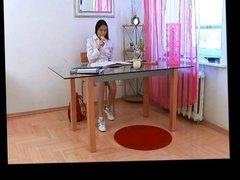 Asian SchoolGirl Masturbates