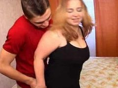 mom with boy