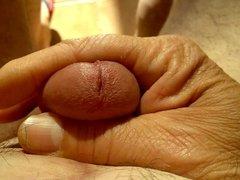 Close-upCumshot and semen massage 001