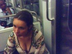 milf very large db in Paris subway