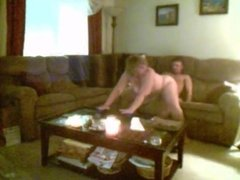 White couple getting it in