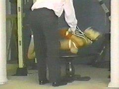 suspended in heels