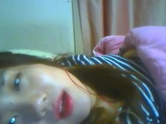 Korean Slut Yein Jeong masturbates on webcam 6